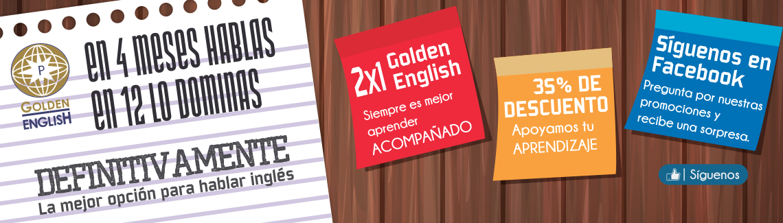 Golden English Escuela de Inglés en Guadalajara